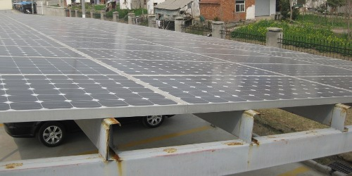 15KW-Shed-in-our-factory-20091 Solar Panels News