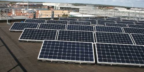 23KW-for-University-in-Hertfordshire-UK-2011 WeAmerisolar - Amerisolar Solar System