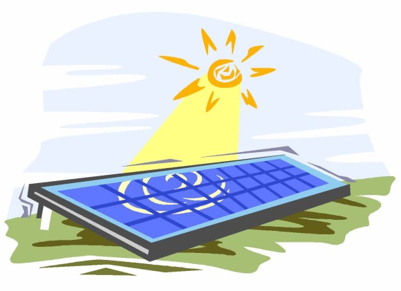 Solar-Panel-Clip-Art-580x421 France announces Q1 2013 FiTs News
