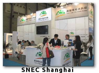 SNEC-Shangai Successfully Exhibited News