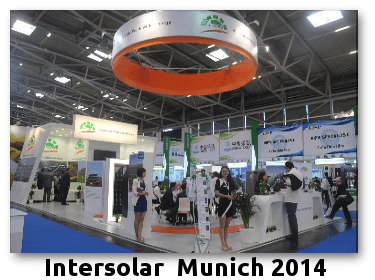 intersolar-munich Successfully Exhibited News