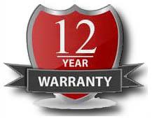 12-Year-Warranty Garantía de los Paneles Solares