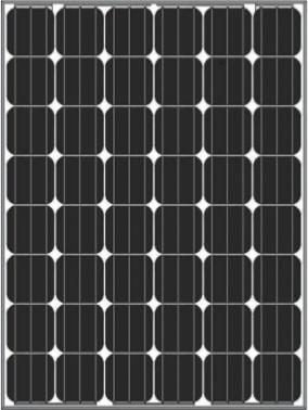 Solar-Panel-Mono-6M24-190W-220W Monocrystalline Solar Panel