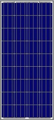 Solar-Panel-Mono-6P18-135W-165W Polycrystalline Solar Panels