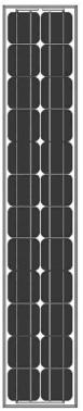 SolarPanel-Mono-5M12-60W-70W Monocrystalline Solar Panel