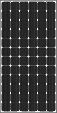 SolarPanel-Mono-AS-5M-185-210-Wp Monocrystalline Solar Panel