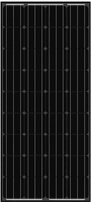 balck-solar-panel-AS-6M18 Black Solar Panels