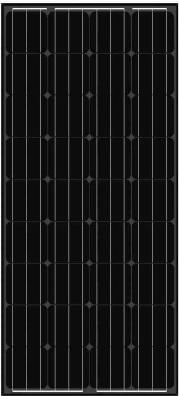 balck-solar-panel-AS-6M18 Black Solar Panels