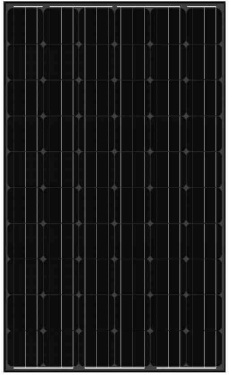 balck-solar-panel-AS-6M30 Black Solar Panels