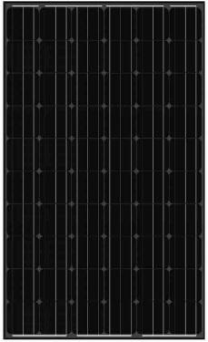 balck-solar-panel-AS-6M30 Black Solar Panels