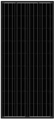 balck-solar-panel-AS-6P18 Black Solar Panels