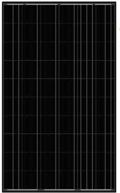 balck-solar-panel-AS-6P30 Black Solar Panels
