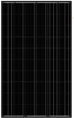 balck-solar-panel-AS-6P30 Black Solar Panels