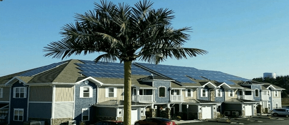 Apartment-complex Solar Powered Apartment Complex in PA USA News