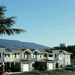 Solar powered apartment