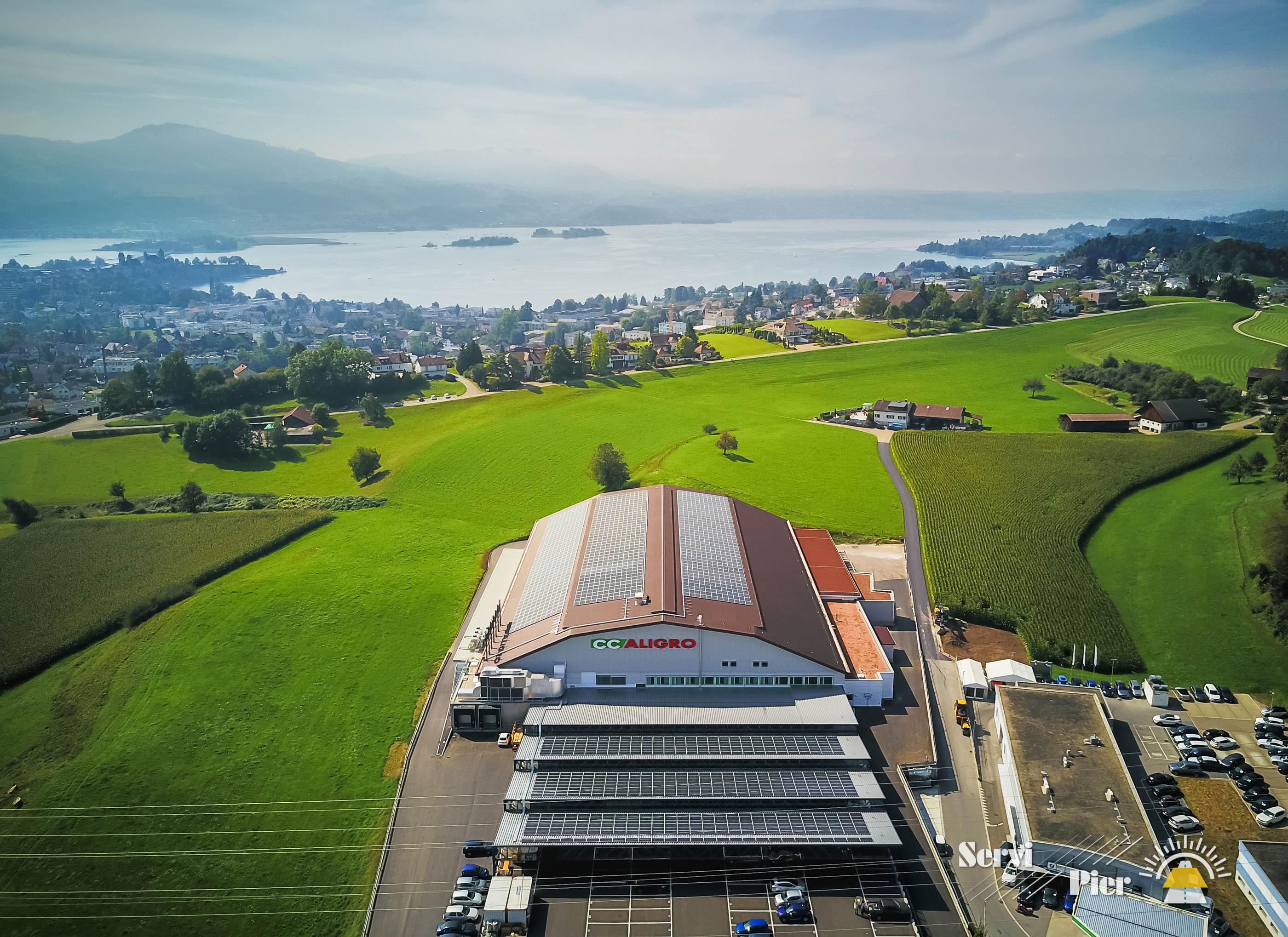 ServiPier-Centrale-Solaire-Aligo-Rapperswil-web-04 4'500 solar modules mono 290W in Switzerland
