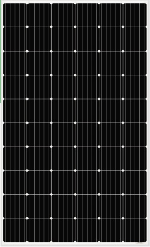 AS-6M30-280-320W-Module-Specification-1640-992-35mm Monocrystalline Solar Panel