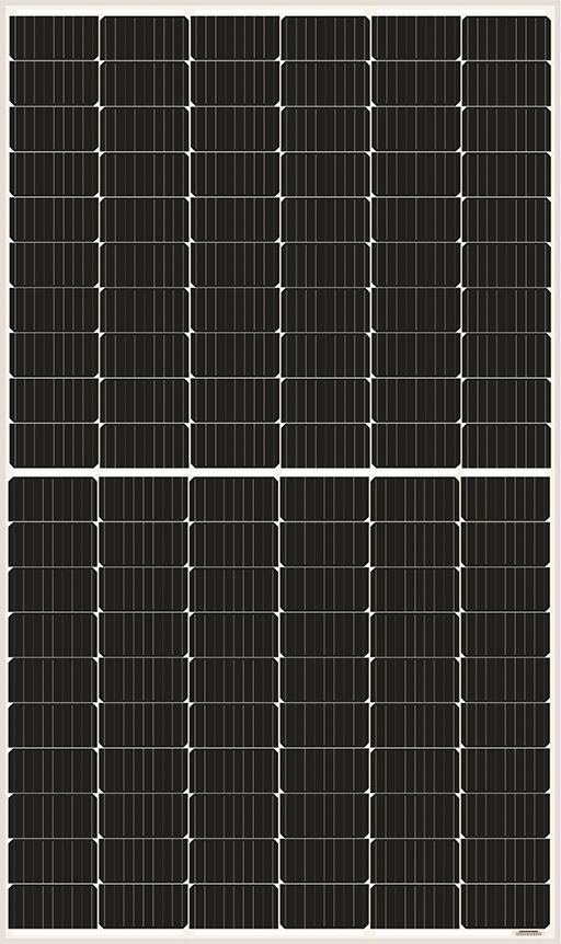 AS-6M120-HC-355W380W Half Cell Solar Panels