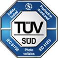 TUV-Sud-Certification Solar Certification