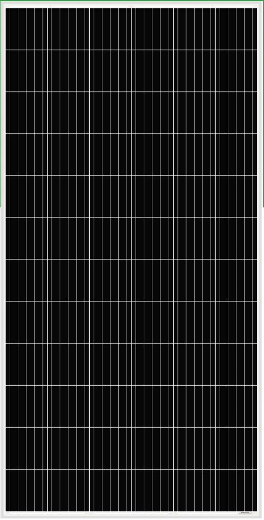 AS-6M-360W400W Amerisolar Monocrystalline Solar Panel