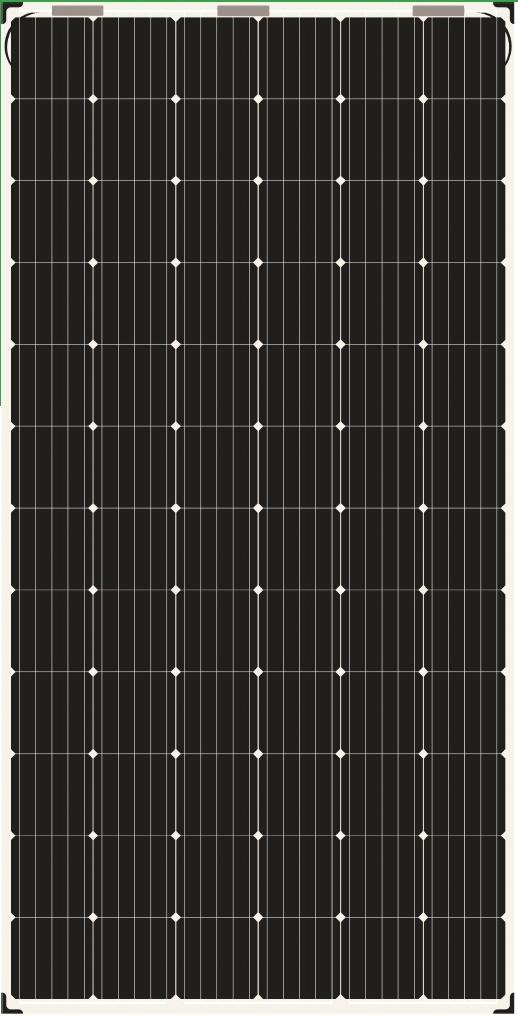 AS-6M-BET355W380W Bifacial Solar Panels