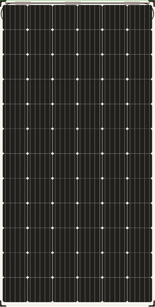 AS-6M-BN-390W410W Bifacial Solar Panels