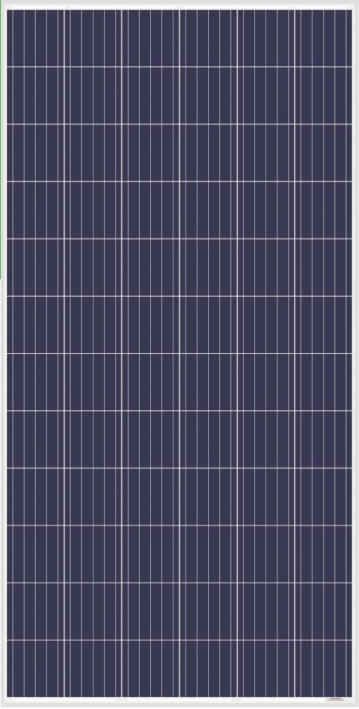 AS-6P-325W355W Amerisolar Polycrystalline Solar Panels